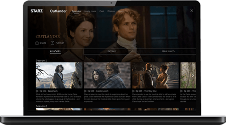 sign up for starz